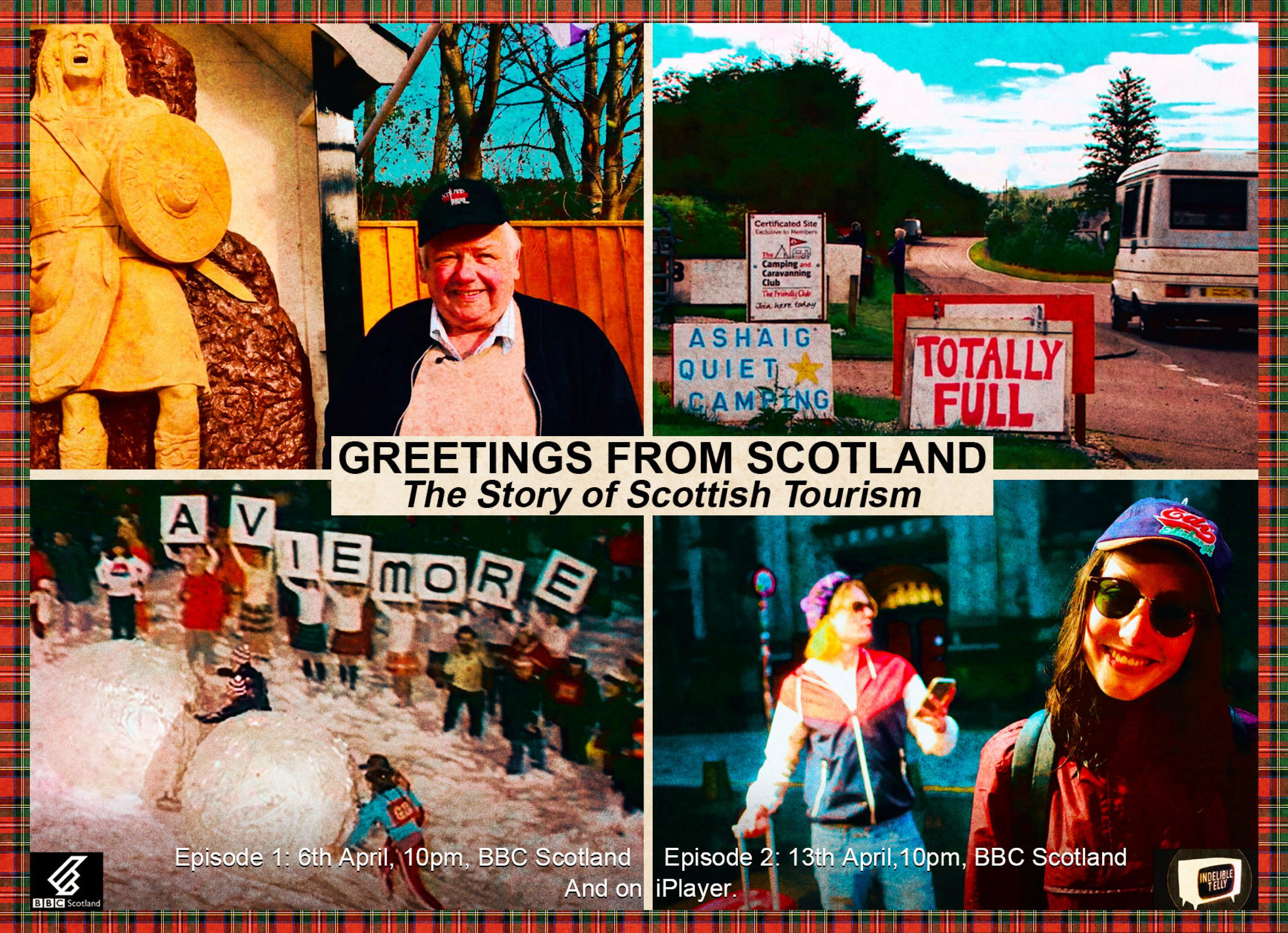 Greetings From Scotland TX card